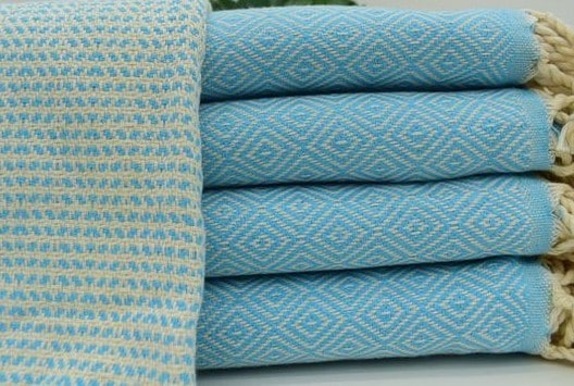 Turkish Towels Aqua