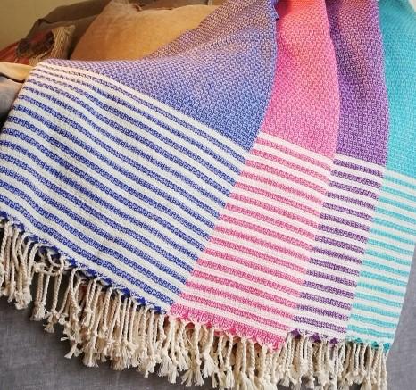 throws, turkish cotton, cotton, Turkish towels