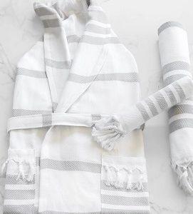 bathrobe, beach robe, robe, turkish robe