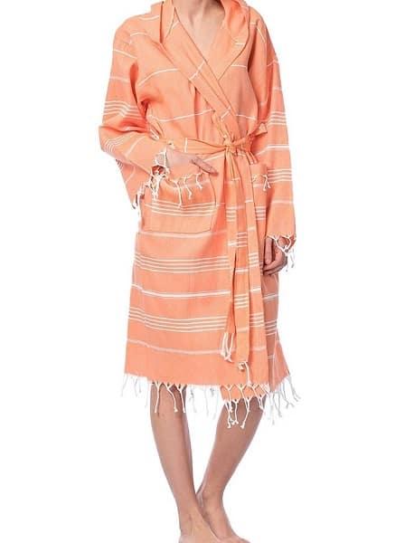 Robe Orane Front