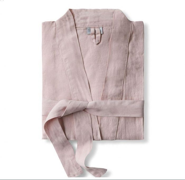 Linen Robe pink